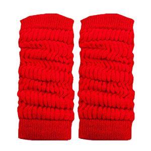 Toocool LO-LW01 Jambières unisexes à la mode, chaudes, pour danse, hiver – Rouge – Taille Unique
