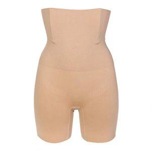 ZYHJ Culotte gainante sans coutures pour femme, taille haute, amincissante, contrôle du ventre, culotte, culotte, corset pour femme, comme sur la photo, taille S