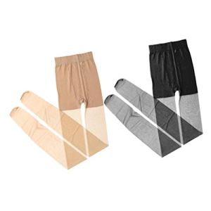 B Baosity Collants Ultra Fins pour Femmes Leggings Control Top Stretch Collants 2 Couleurs