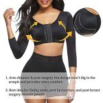 FeelinGirl Corset Femme pour Usage postopératoire Réglable Librement pour s'adapter à Une variété de bustes Rendre la Poitrine Plus Parfaite Noir-88 M