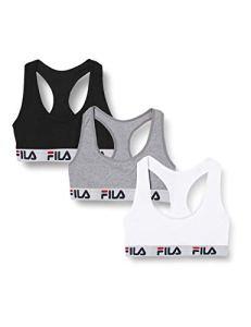 Fila Women FI/2/BRAX3 Soutien-gorge de sport, FU6042G, XS Femme