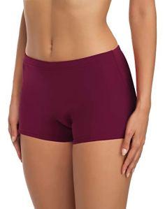 Merry Style Short de Bain Sport Vêtements d'Été Femme L23L1(Bordeaux (5288),EU 38 (FR 40))