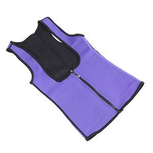 Tomanbery Entraîneur de Taille de Sueur de Corset de néoprène de Levage de Poitrine pour l'usage Quotidien(XL)