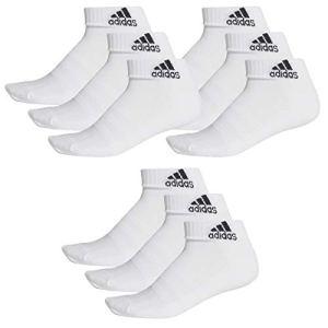 adidas 9 pair Performance Sneaker Socks Unisex short sock, Farben:White, Socken & Strümpfe:40-42