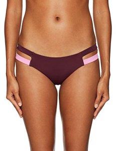 Billabong Women's Surf Capsule Isla Bikini Bottom, Mulberry, M