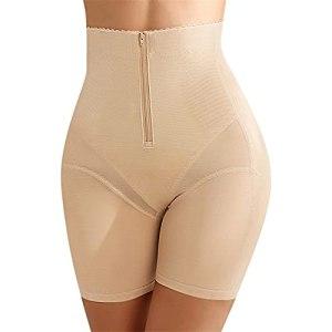 Linyuex Femme Tummy Control Culotte Body Shaper Taille Haute Butteuse Cuisse Short Cuisse Cuisse Minceur Signe de Shapewear (Color : Skin, Size : M)