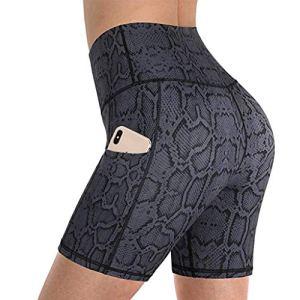 luck-peng Pantalons de Sport Femme (Vêtements) Leggings Femme Legging Sport Femmes Leggings Sport Femme Pantalon de Yoga Extensible Gris1 S