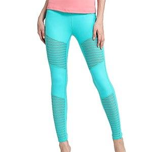 PRJN Collants de Sport Creux sans Couture pour Femmes Pantalon de Yoga de Compression Squat Proof Taille Haute Collants de Course Pantalons d'entraînement Pantalon de Yoga Taille Haute pour Leggings