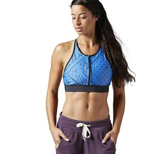Reebok Women's Yoga Sup Bra Echo Blue X-Large