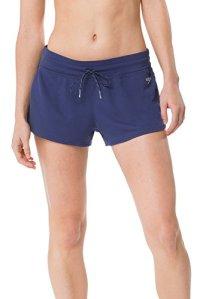 Speedo Women's Coverup Short, Starry Blue, Large