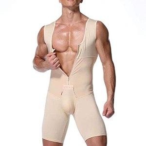 WXFASHION Chargeur de Fesses pour Hommes, Shorts de Seconde de Seconde contrôle du Ventre rembourré sous-vêtements Minceur Pantalon de Remise en Forme (Color : Skin, Size : 4XL)