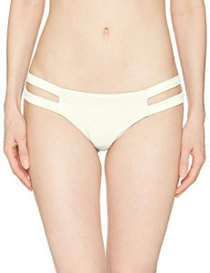 Billabong Women's Tanlines Isla Bikini Bottom, Seashell, L
