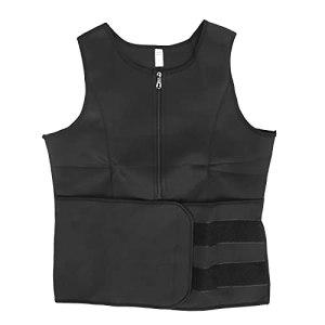 Body Shapewear Vest, Gilet de sueur noir pour la course(XL)