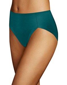 Maidenform Comfort Devotion High Leg Brief 5 Green