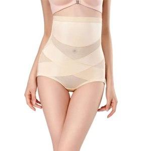 Shapewear Collants Sculptants Femme Culottes Sculptantes Taille Haute Élastique pour Minceur Ventre Plat Butt Lifter Remonte M-XXL (Color:肉色,Size:XXL)