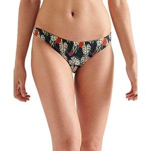 Superdry Classic Bikini Brief, Cut About Leaves AOP, M Femme