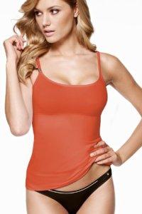 Triumph Trendy Sensation T-Shirt, Orange (Living Coral), S Femme