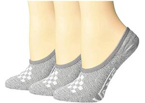 Vans, Canoodle, Super No-Show Chaussettes – Lot de 3 paires de chaussettes Gris pour femme (6,5-10)
