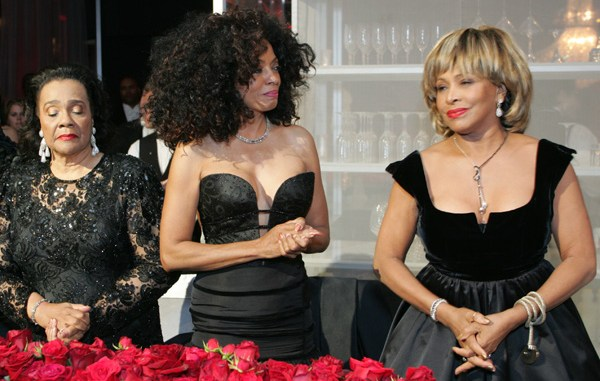 Tina Turner and Diana Ross