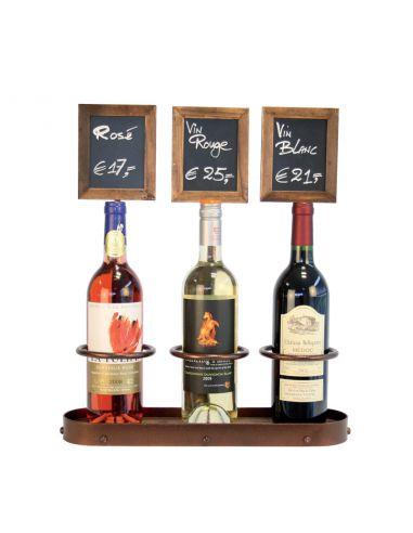 presentoir bouteilles