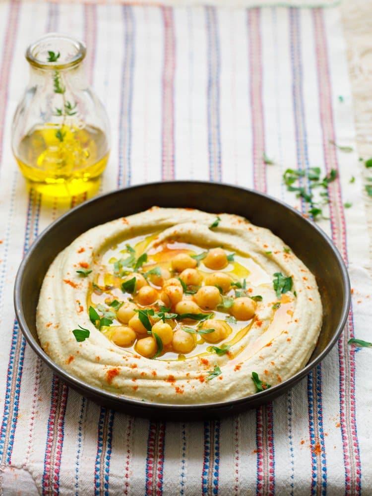 Hvordan lage hummus slik de gjør i Midtøsten