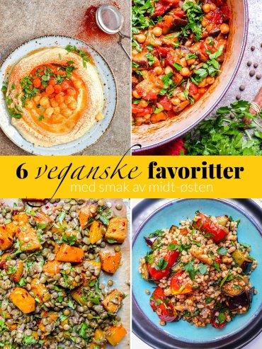 6 veganske oppskrifter fra Midt-Østen / Et kjøkken i Istanbul