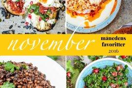 Månedens favoritter - november 2016 / Et kjøkken i Istanbul