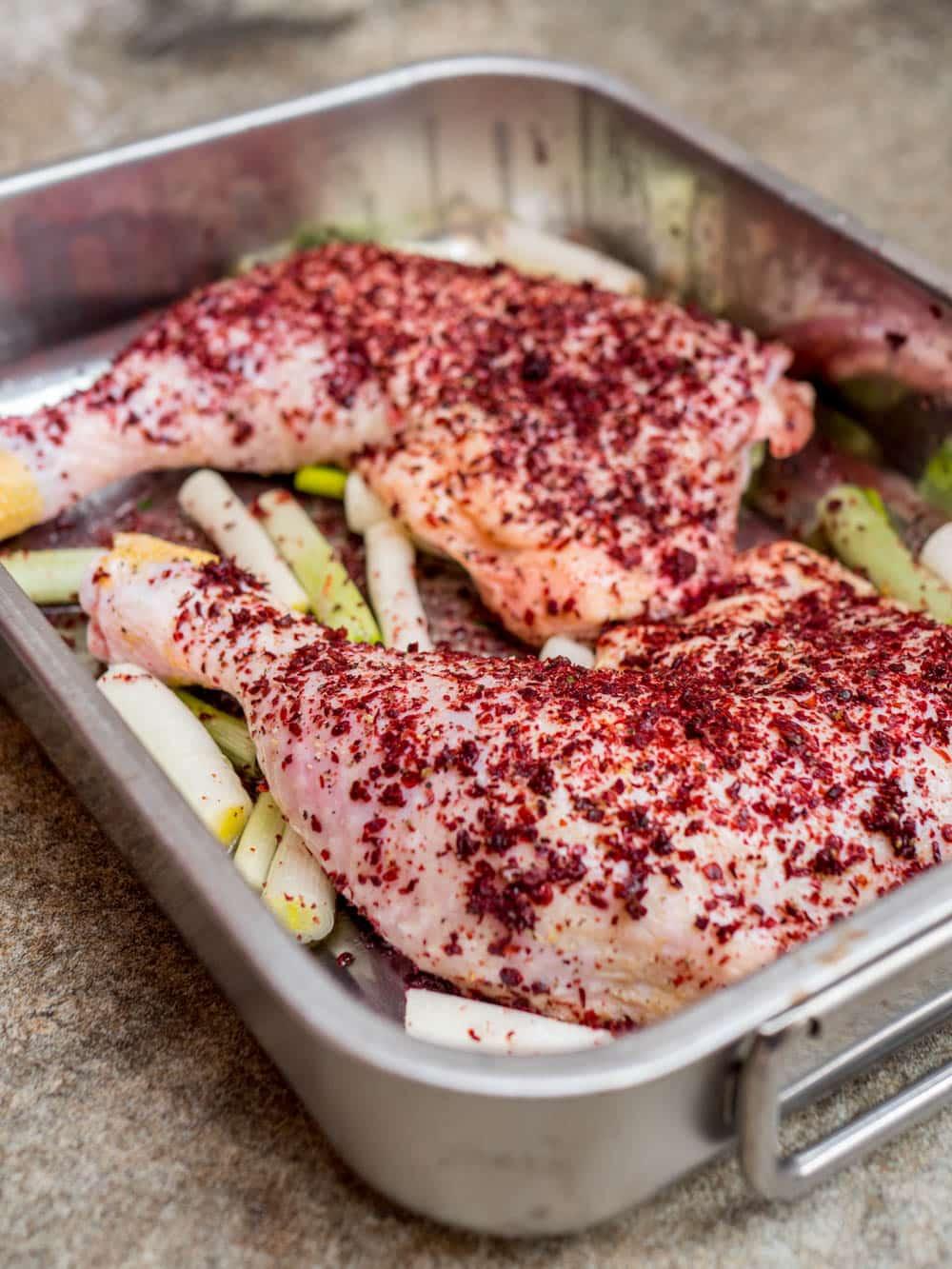 Kylling med sumak - oppskrift / Et kjøkken i Istanbul