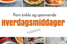 Ukemeny: 5 enkle hverdagsmiddager / Et kjøkken i Istanbul