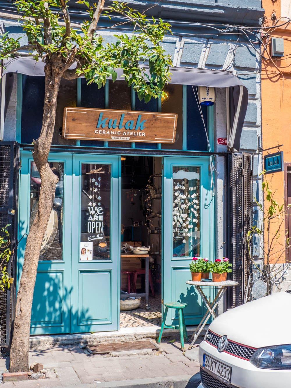 Keramisk verksted i Balat, Istanbul