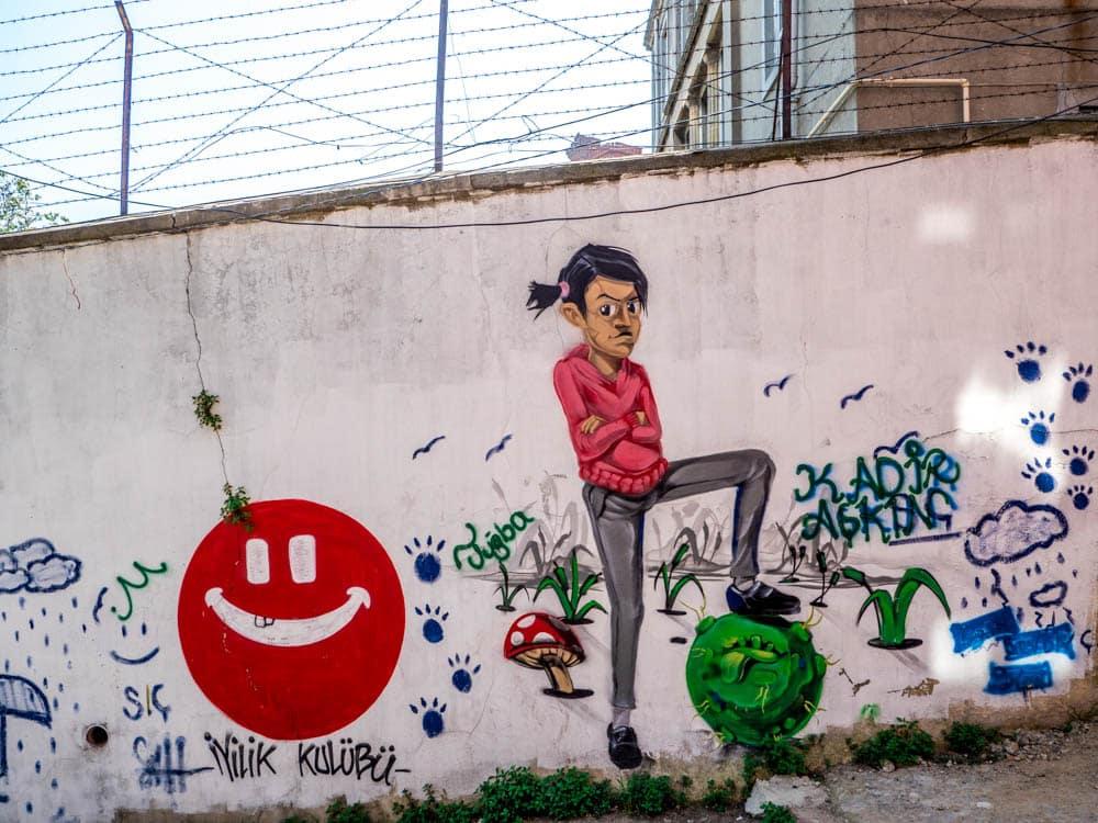 Graffiti i Balat / Fener, Istanbul