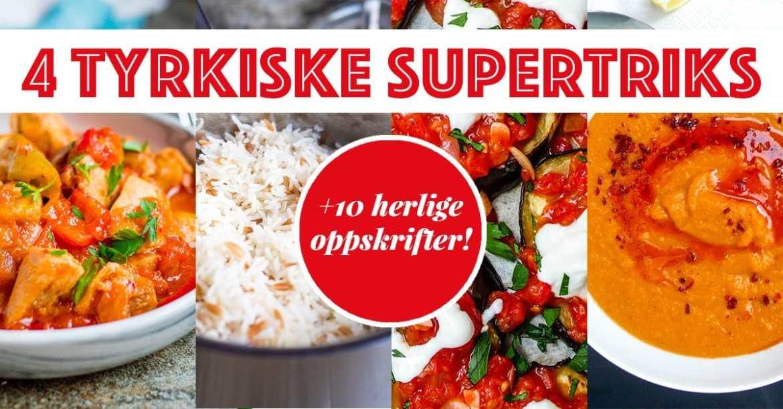 4 tyrkiske supertriks / Et kjøkken i Istanbul
