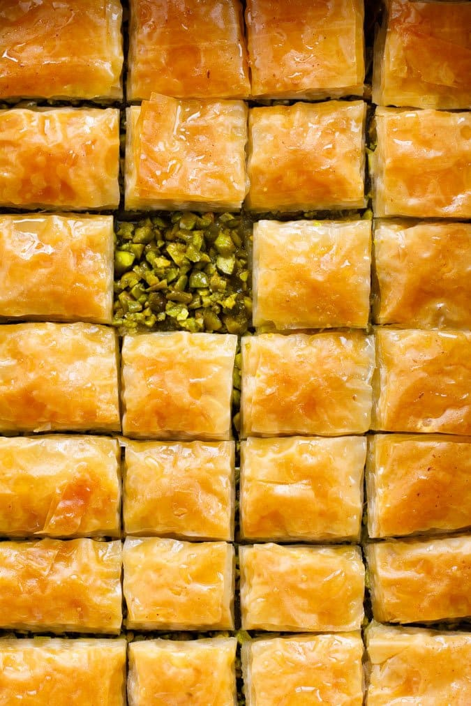 Baklava fra «Hummus og granateple» av Vidar Bergum