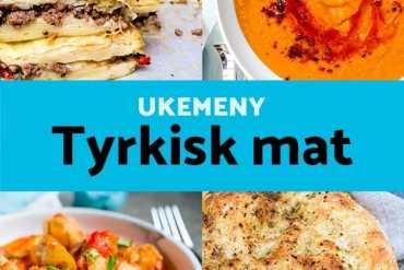 Ukemeny fra Et kjøkken i Istanbul: Tyrkisk mat