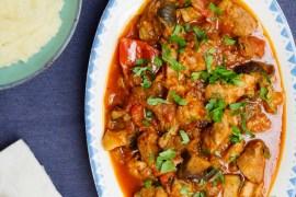 Enkel lammegryte med aubergine - oppskrift / Et kjøkken i Istanbul