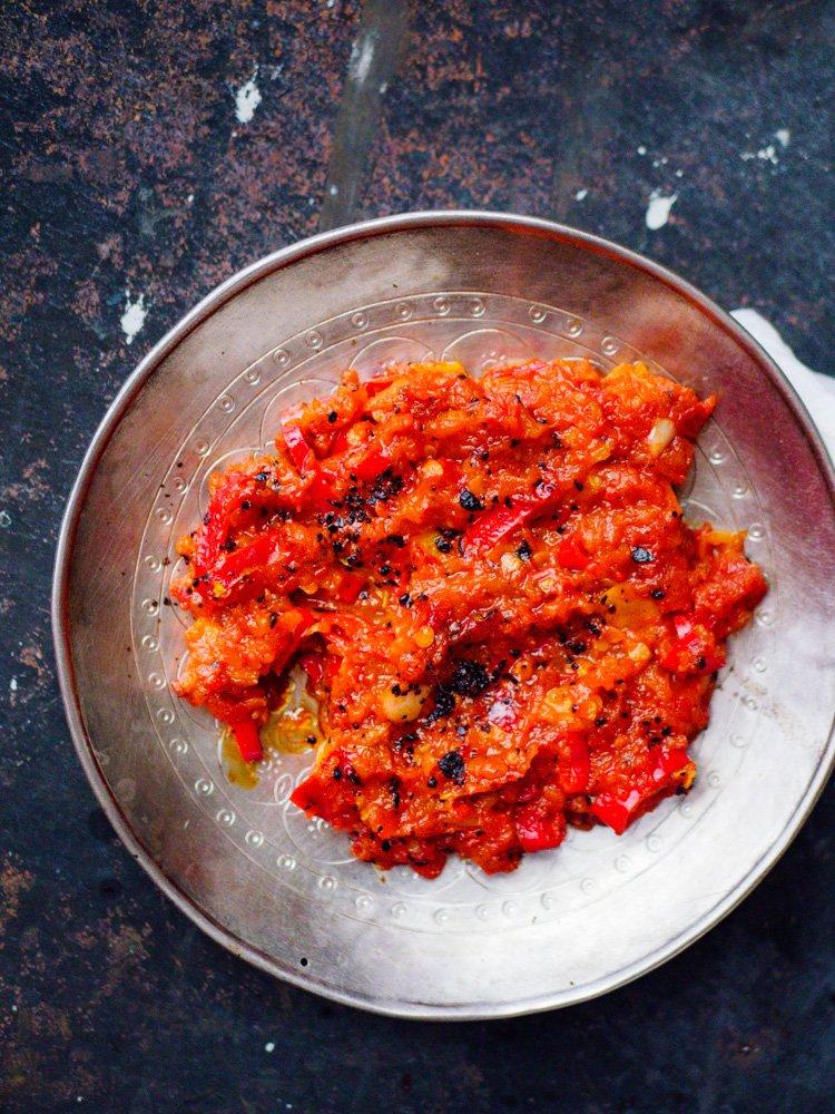 Chilidipp - oppskrift fra Et kjøkken i Istanbul
