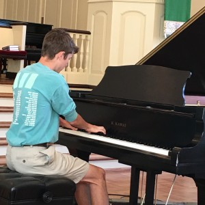 "PAUL RYDER, STUDENT OF JUDY WILKINS, PLAYS ""PRELUDE OP.3, NO.2"" BY RACHMONINOFF."