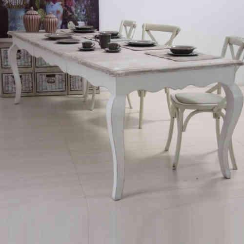 21,7 €   splendido tavolino bianco shabby chic provenzale: Tavolo Provenzale Shabby Chic Etnicoutlet Mobili Etnici