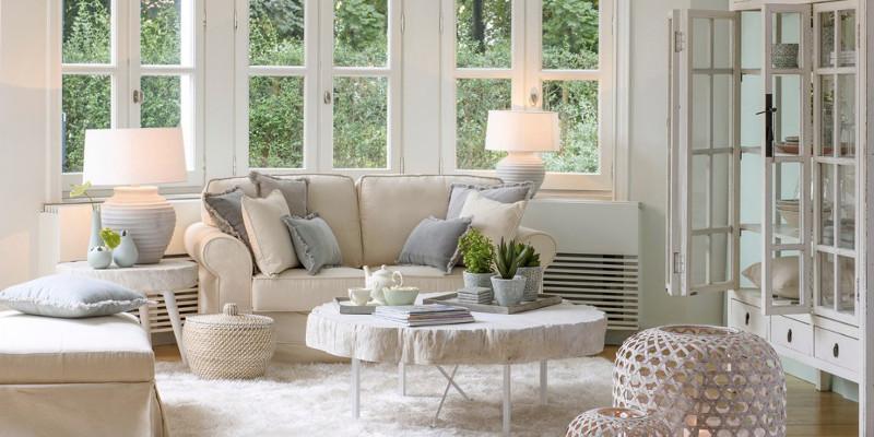 Per dare stile al tuo living, scopri la versatilità dei divani in tessuto! Divani E Poltrone Provenzali E Shabby Chic Online Etnico Outlet
