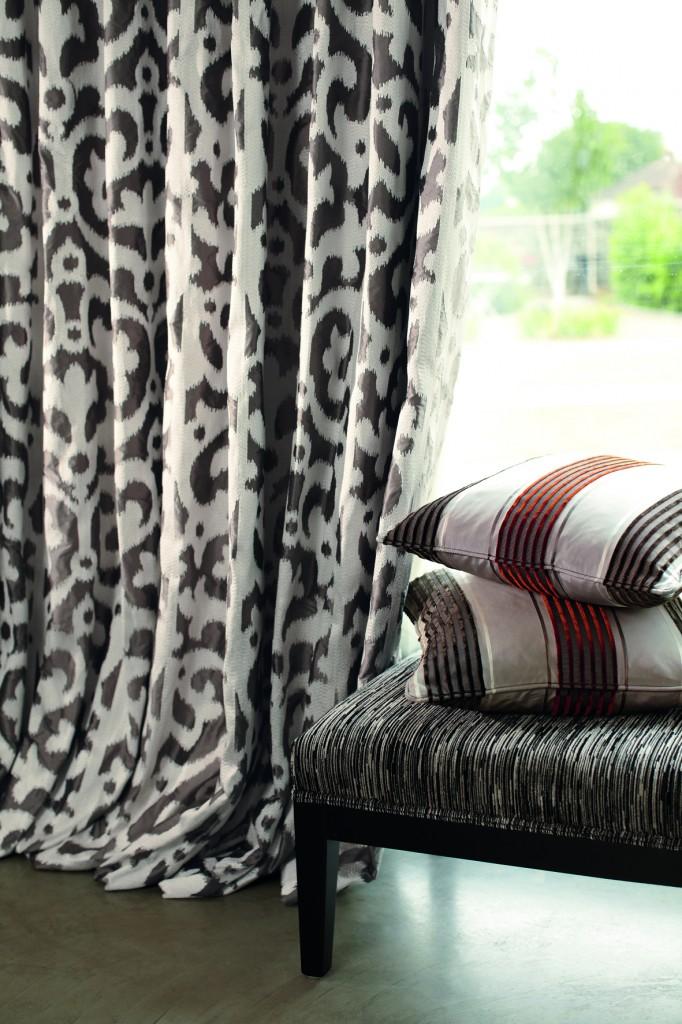 etofea rideaux en soie rideaux sur