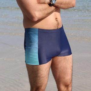 embrun maillot de bain, patron de couture, patron de maillot de bain, boxer, homme, lycra