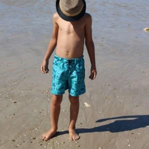 patron de couture, patron de maillot de bain, homme, enfant, caleçon de bain, maillot, plage,mer