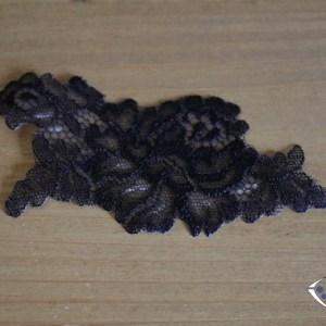 Décoration thermocollante noir