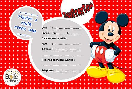 carton invitation anniversaire gratuit