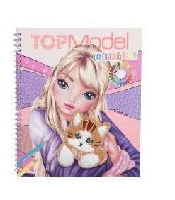 TOPModel Värityskirja CAT