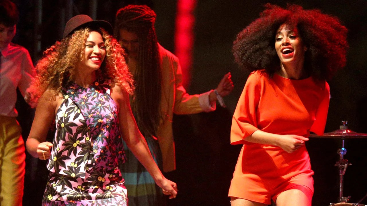Image result for beyonce and solange