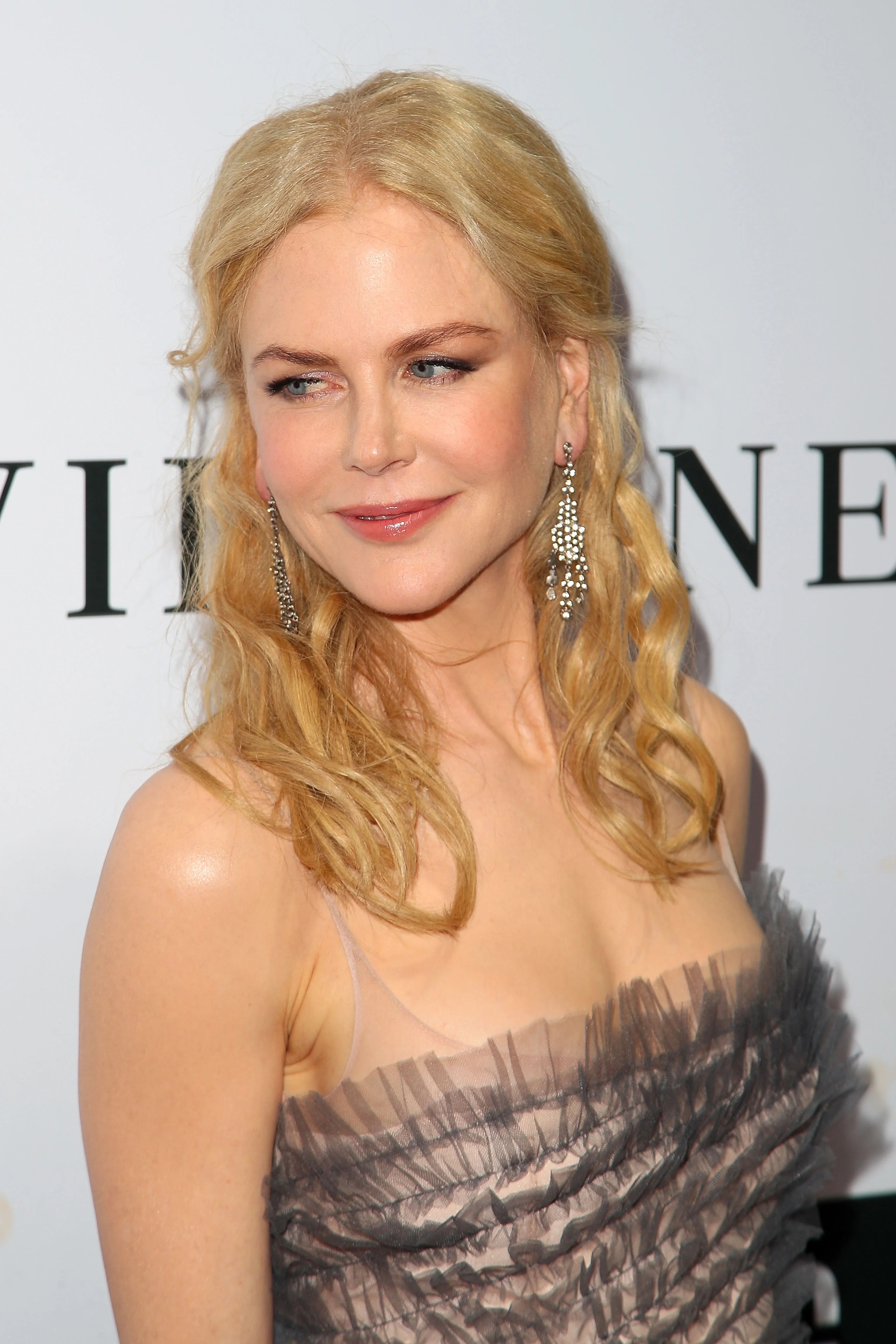 Nicole Kidman Stuns In Ruffled Gown At NGV Gala See The