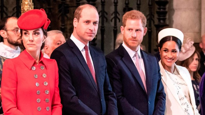 Image result for Harry, Meghan, William, Kate Join Forces To Launch Mental Health Hotline