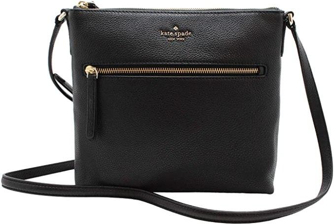 Kate Spade New York Jackson Pebbled Leather Shoulder/Top Zip Crossbody Bag