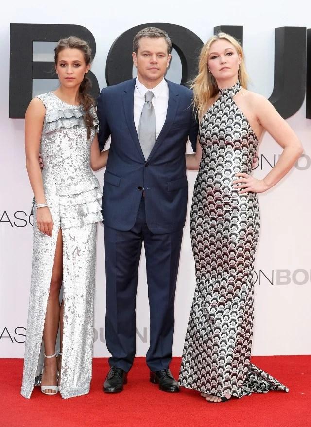 Matt Damons Wife Luciana Barrosos Legs Steal The Show At